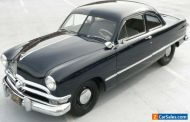 1950 Ford Deluxe Business Coupe      Supercharged Flathead Business Coupe