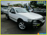 2006 Ford Falcon BF RTV (LPG) White Automatic 4sp A Cab Chassis