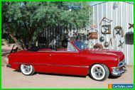 1950 Ford Custom Convertible Shoebox