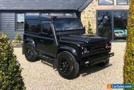 Land Rover Defender 90 tdci Black