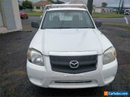 2008 Mazda BT-50 UNY0W3 DX White Manual M Cab Chassis