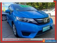 2015 Honda Jazz GK MY15 VTi Blue Automatic A Hatchback