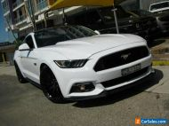 2017 Ford Mustang FM MY17 Fastback GT 5.0 V8 White Automatic 6sp A Coupe