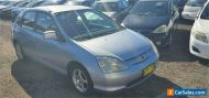 2002 Honda Civic 7th Gen VI Blue Manual 5sp M Hatchback