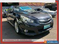 2010 Subaru Liberty MY10 2.5I GT Premium Grey Manual 6sp M Sedan