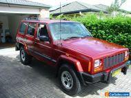 2000 Jeep Cherokee XJ 4x4 4.0L 6 cylinder auto. NSW registered.