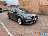 Audi A3 1.6 TDI S line S Tronic (s/s) 4dr £20 year tax    Cat d/n