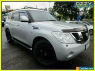 2013 Nissan Patrol Y62 TI-L (4x4) Silver Automatic 7sp A Wagon