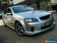 2008 Holden Commodore VE MY09 SS-V 60th Ann Silver Automatic 6sp A Sedan