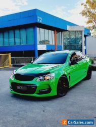 2017 HOLDEN COMMODORE SS REDLINE 6SPD MANUAL SPITFIRE WITH EXTRAS
