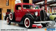 1938 Ford Pick Up suit flat head V8 collector vintage classic hotrod Chev