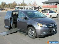 2016 Honda Odyssey Touring Elite Handicapped Mobility Van