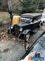 1931 Dodge DH wire wheels