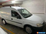 Holden Combo Van 2008 White Exterior/Black Interior, Manual