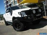 2014 Ford Ranger PX Wildtrak 3.2 (4x4) White Automatic 6sp A Crew Cab Utility