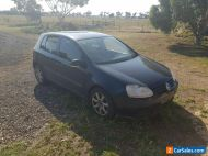 VW GOLF TDI 2005 UNREGISTERED and SOLD AS IS,