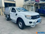 2015 Ford Ranger PX XL White Automatic A Cab Chassis