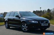 2011 VOLVO V70 D5 SE LUX AUTOMATIC ESTATE BLACK