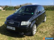 Audi A2 1.4 TDI sport with red leather sport seats good mpg and £30 tax