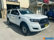 2017 Ford Ranger PX MkII XL White Automatic A Utility