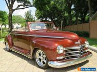 1948 Plymouth Deluxe Convertible A/C Power Windows, Doors, Brakes, & Steering