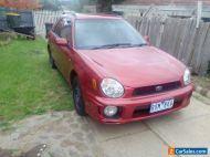 Subaru Impreza 2002 gx 2.0L