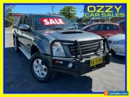 2008 Holden Rodeo RA MY08 LT (4x4) Grey Automatic 4sp A Crew Cab P/Up