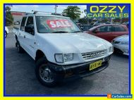 1998 Holden Rodeo TFR7 LT White Automatic 4sp A Crew Cab P/Up