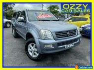 2004 Holden Rodeo RA LT Grey Automatic 4sp A Crew Cab P/Up