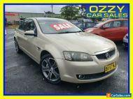 2009 Holden Calais VE MY10 V Gold Automatic 6sp A Sedan