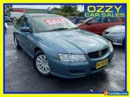2006 Holden Commodore VZ Acclaim Teal Automatic 4sp A Sedan