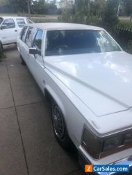 Cadillac limo 1984