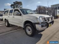 4X4 TURBO DIESEL - DUAL CAB - CANOPY - HOLDEN RODEO 2006 LT MANUAL
