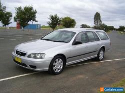 FORD FALCON AUTO  LATE 11.2005 MODEL BF STATION WAGGON PETROL REGO 6OCT 2021