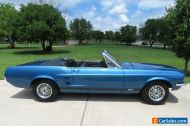 1967 Ford Mustang GT Convertible - Power Steering/Top