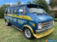 1978 Dodge Custom Classic Cruiser Van V8 Auto