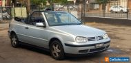 2000 Volkswagen VW Golf Convertible 2dr Auto 4sp 2.0i 4Cylinder Clean Rare Car