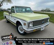 1972 Chevrolet C-10 Custom Deluxe, 400 Big Block - Auto, AC, 47k