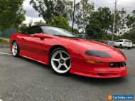 1994 Chevrolet Camaro Z28 Red Automatic A Convertible