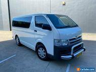 2008 Toyota HiAce TRH201R MY10 Van LWB 4dr Auto 4sp, 1135kg 2.7i White A Van
