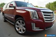 2018 Cadillac Escalade 4X4 ESV LUXURY-EDITION(LONG WHEEL BASE)
