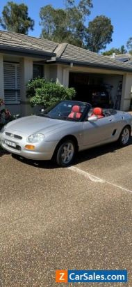1997 MGF convertible 5 speed manual gearbox