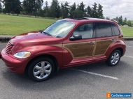 2004 Chrysler PT Cruiser LIMITED edition no reserve auction woody low miles