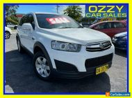 2014 Holden Captiva CG MY14 7 LS (FWD) White Automatic 6sp A Wagon