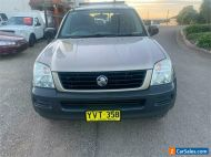 2003 Holden Rodeo RA LX Silver Automatic A Utility