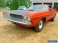 1970 Dodge Challenger 1970 Challenger V Code hemi orange 4 spd dana 60