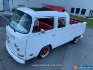 1981 Volkswagen Bus/Vanagon VW Bus 1600cc Double Cab SEE VIDEO!