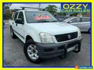 2005 Holden Rodeo RA LX White Manual 5sp M Crew Cab P/Up