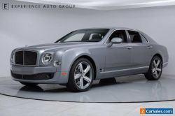 2016 Bentley Mulsanne Speed 4dr Sedan
