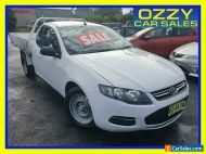2012 Ford Falcon FG Upgrade (LPi) White Automatic 6sp A Cab Chassis